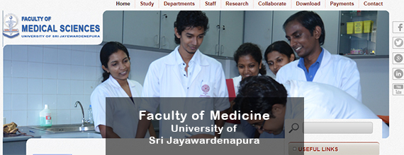 Faculty of Medicine - University of Sri Jayawardenapura